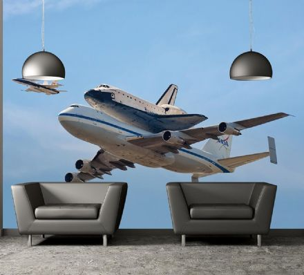 Space Shuttle Endeavour wall mural wallpaper Premium